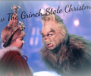 christmas, festive, and grinch image