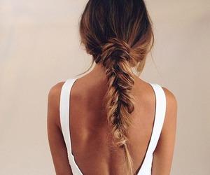 beauty, fashion, and braid image