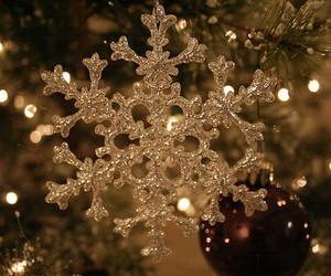 christmas, snowflake, and winter image
