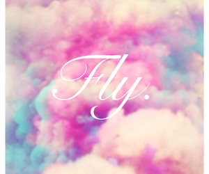 wallpaper, clouds, and fly image