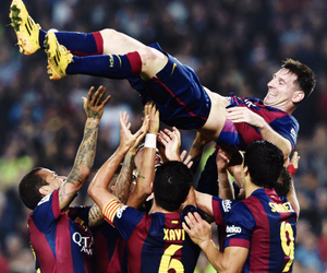 soccer and fc barcelona image