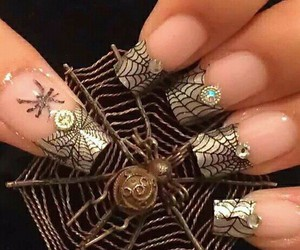Halloween, nails, and awesome nails image