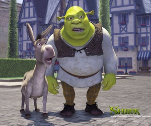shrek and donkey image