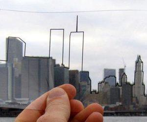 twin towers and remember image