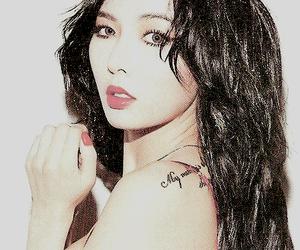 beautiful, black hair, and cute girl image