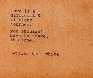 difficult, journey, and life image
