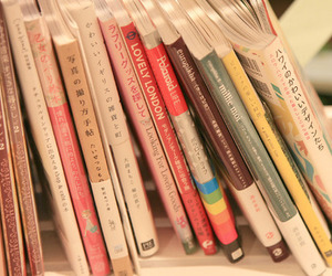 asian, japanese, and books image