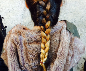 beautiful, hairstyles, and ombre image