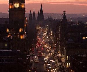 city, light, and london image