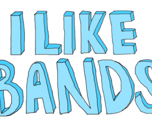 bands, transparent, and music image