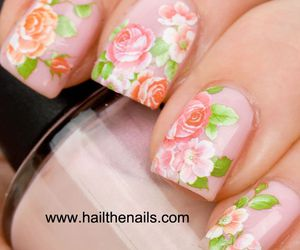 beautiful, flowers, and girly image