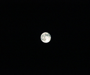 dark, flickr, and moon image