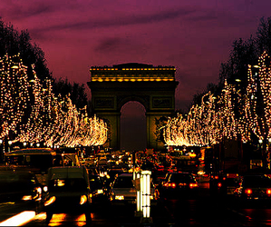 champs elysees, city, and france image