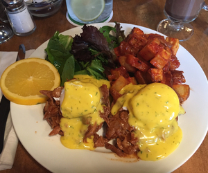 breakfast, brunch, and eggs image