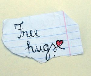 hugs, message, and quotes image