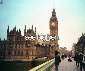 before i die, Big Ben, and dreams image
