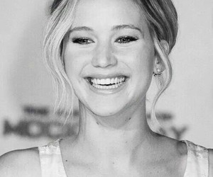 Jennifer Lawrence, smile, and beautiful image