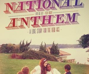 lana del rey and national anthem image