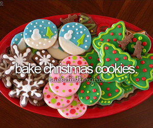 before i die, christmas, and Cookies image