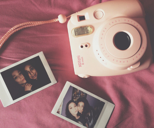 lovely, polaroid, and sisters image