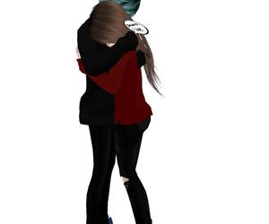 emo, hug, and imvu image