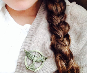 braid, girl, and the hunger games image