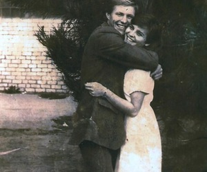 couple, happy, and young image