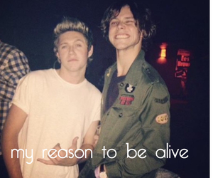 1d, 5sos, and ashton irwin image