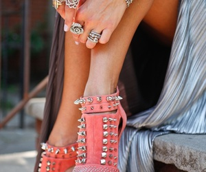 acessories, girly, and shoes image
