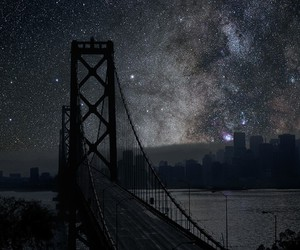 stars, night, and city image