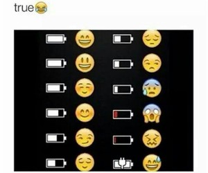true, battery, and funny image