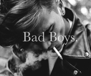 bad, boy, and guy image