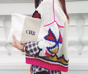 style, trendy, and sweater image