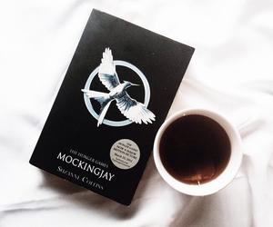 mockingjay, book, and tea image