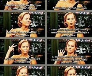 Jennifer Lawrence, hunger games, and katniss image