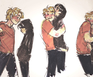 solangelo and heroes of olympus image