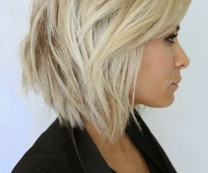 blonde and hairstyle image