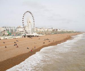 beach, brighton, and uk image