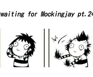 mockingjay, book, and hunger games image