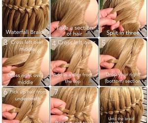 braid, hairstyle, and help image