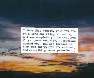 quote, moment, and peace image
