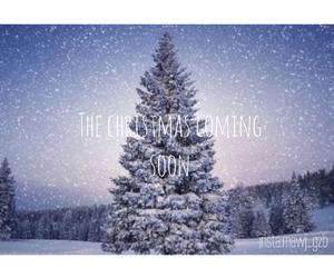 christmas, coming, and winter image