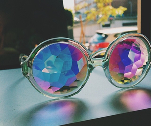 fashion, style, and glasses image