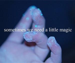 blue, magic, and need image