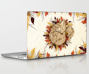 art, stickers, and laptopskins image