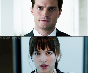 fifty shades of grey and love image