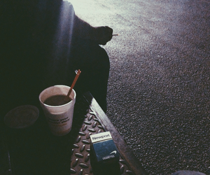dunkin donuts, grunge, and hipster image