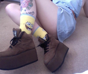 pale, creepers, and grunge image