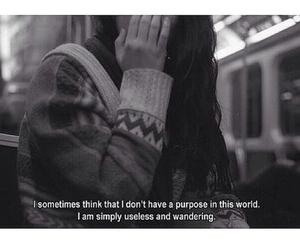 sad, broken, and depressed image