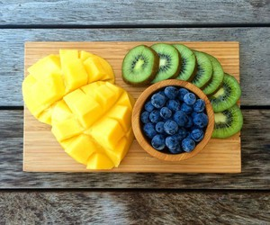 fruit, blueberry, and fitness image